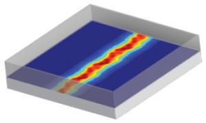 世界 电线/科学家创造了硅原子大小的电线,使用的技术称为扫描隧道显微镜...